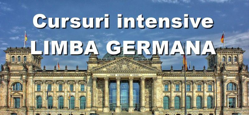 Cursuri intensive LIMBA GERMANA